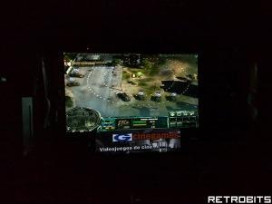 """El """"Cold War"""" a pantalla super-gigante."""