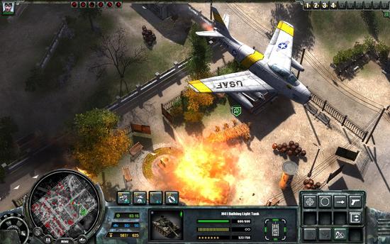 Podremos solicitar apoyo aéreo desde ciertos lugares estratégicos conquistados al enemigo.