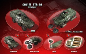 El juego ofrecerá muchas y muy variadas posibilidades de mejora para los vehículos (click para agrandar la imagen).