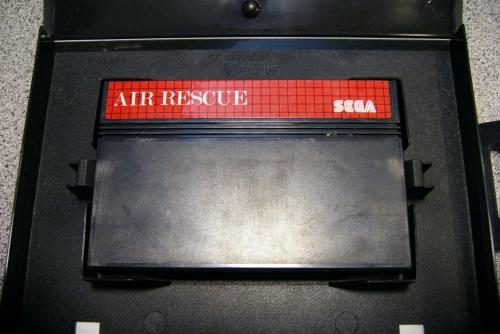 Air Rescue para Master System. Aún no lo he probado, pero no tiene mala pinta.